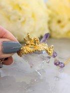 他の写真2: トマスゴンサガ産水晶クラスター ペガサスネックレス